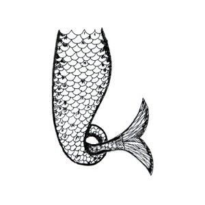 Mermaid tail outline clipart vector library stock 17 best ideas about Mermaid Tail Drawing on Pinterest | Mermaid ... vector library stock