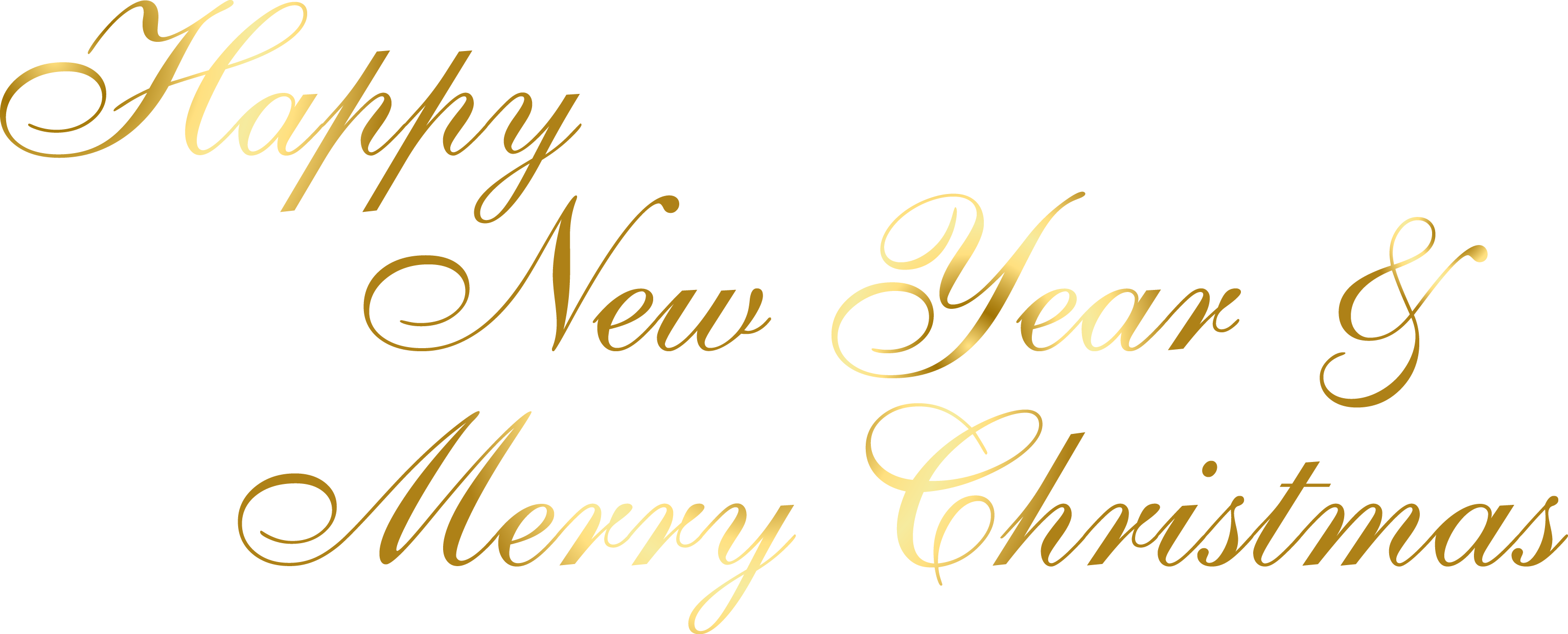 Merry christmas and happy new year clipart free vector royalty free Happy New Year And Merry Christmas Png - 6368 - TransparentPNG vector royalty free
