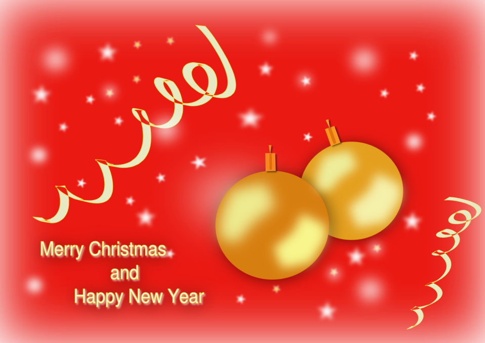 Merry christmas and happy new year clipart free clip art royalty free stock Public Domain Clip Art Image | Merry Christmas and Happy New Year ... clip art royalty free stock