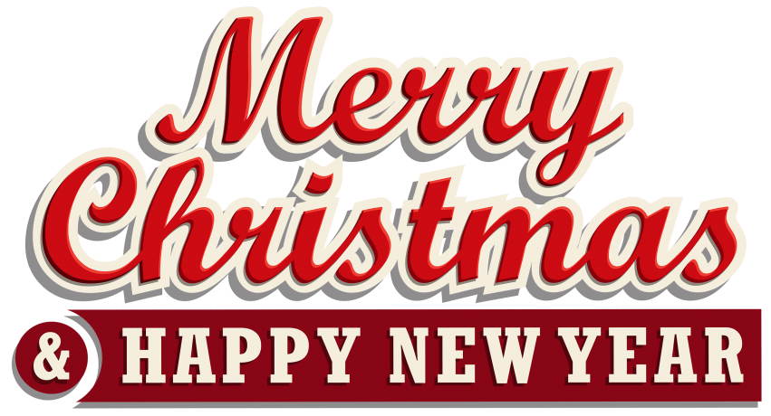 Merry christmas and happy new year clipart free clip freeuse download merry christmas and happy new year - Free PNG Clipart | TOPpng clip freeuse download