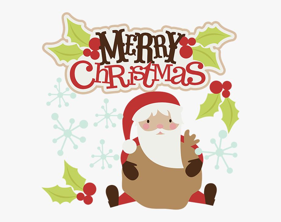 Merry christmas greetings clipart jpg freeuse Merry Christmas Svg Christmas Clipart Santa Svg Santa ... jpg freeuse