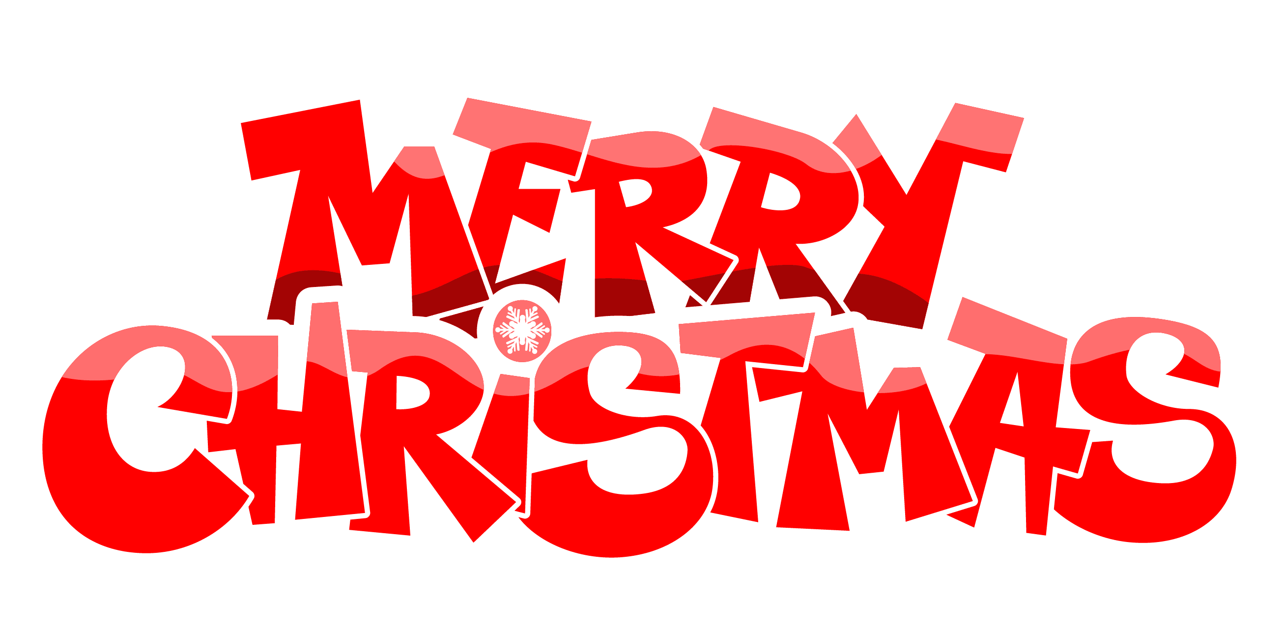 Merry christmas clipart words black and white stock  black and white stock