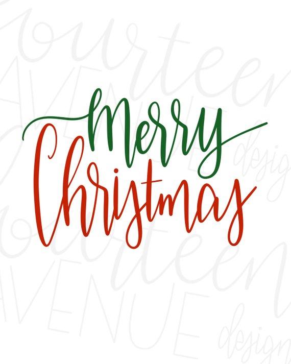 Merry christmas clipart file jpg freeuse library Merry Christmas SVG, Hand Lettered, Christmas Text Overlay ... jpg freeuse library