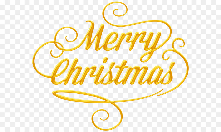 Merry christmas font clipart picture freeuse stock Christmas Paper New Year Clip art - Merry Christmas Text ... picture freeuse stock