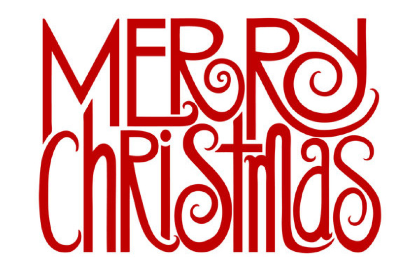 Merry christmas font clipart clip art freeuse library 11 Free Christmas Font Clip Art Images - Favorite Free ... clip art freeuse library