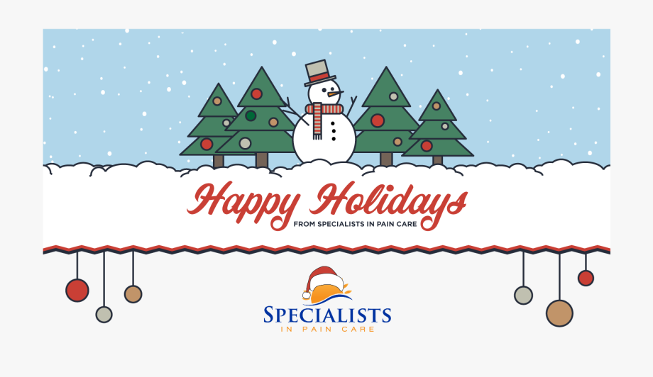 Merry christmas happy holidays clipart png freeuse download Merry Christmas And Happy Holidays From Specialists ... png freeuse download