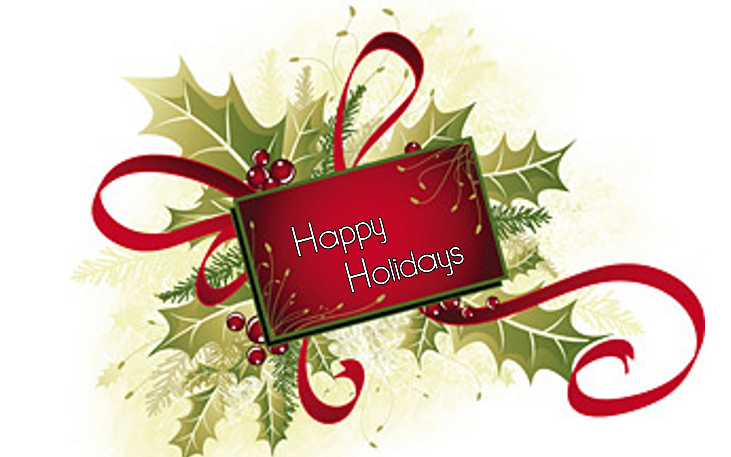 Merry christmas happy holidays clipart banner free Happy holidays merry christmas and happy new year ... banner free