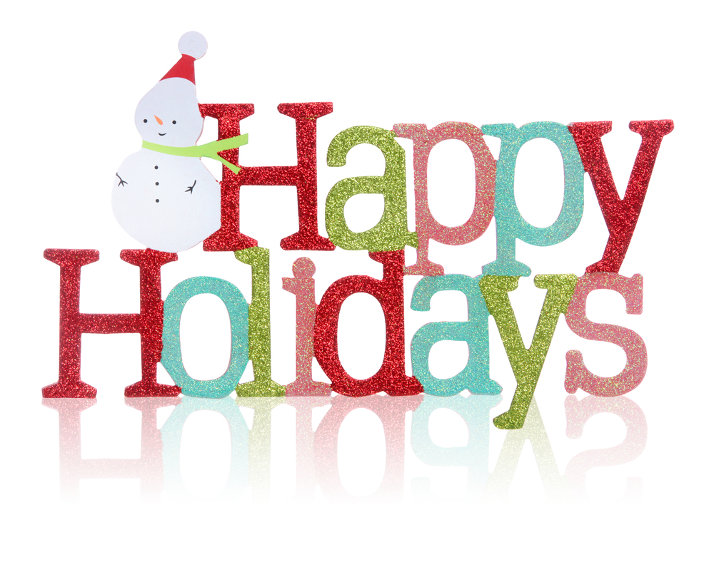 Merry christmas happy holidays clipart image library library 14 Happy Holidays Graphics Images - Happy Holidays Sign ... image library library