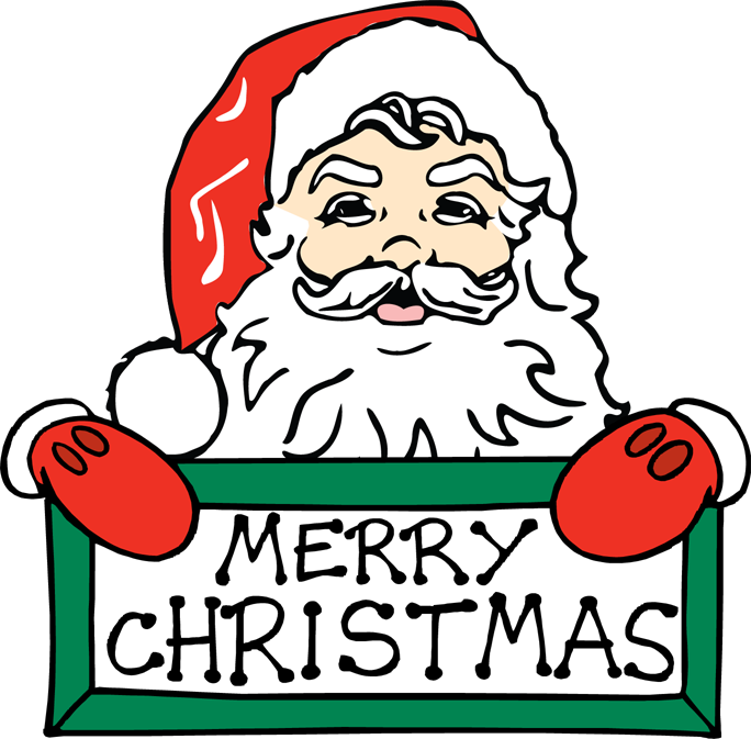 Merry christmas kids clipart banner freeuse stock Merry Christmas ClipArt by Santa for Kids | 4th of July 2015 ... banner freeuse stock