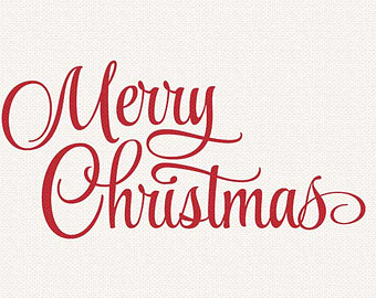 Merry christmas overlay clipart image free stock Merry christmas script clipart - Clip Art Library image free stock