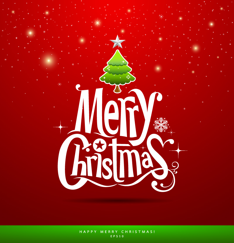 Merry christmas vector free download png library stock Merry christmas vector free download - ClipartFest png library stock