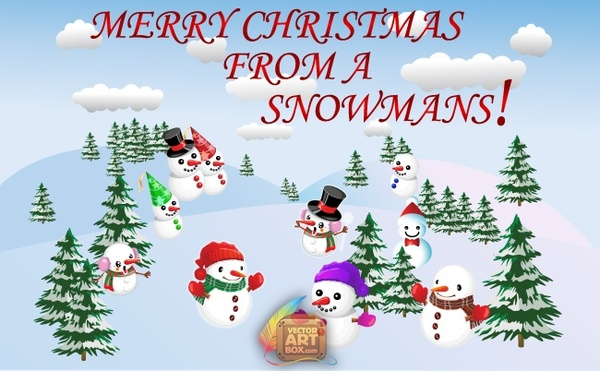 Merry christmas vector free download jpg freeuse Merry Christmas Vector Free vector in Adobe Illustrator ai ( .ai ... jpg freeuse