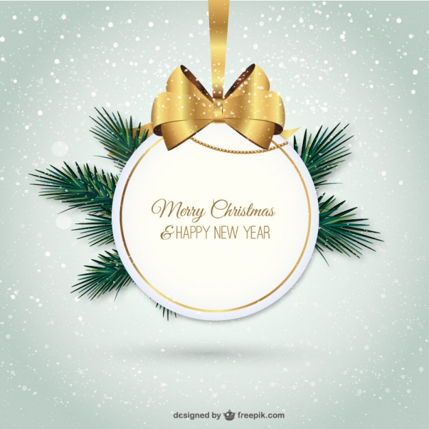 Merry christmas vector free download vector black and white Elegant merry Christmas label Vector | Free Download vector black and white