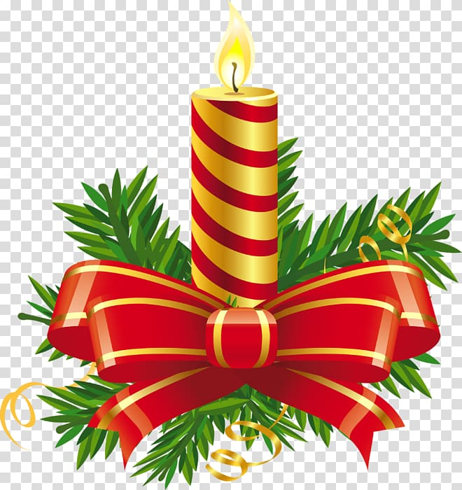 Merry christmas with gold and red candles clipart clip free download Christmas Candle transparent background PNG cliparts free ... clip free download