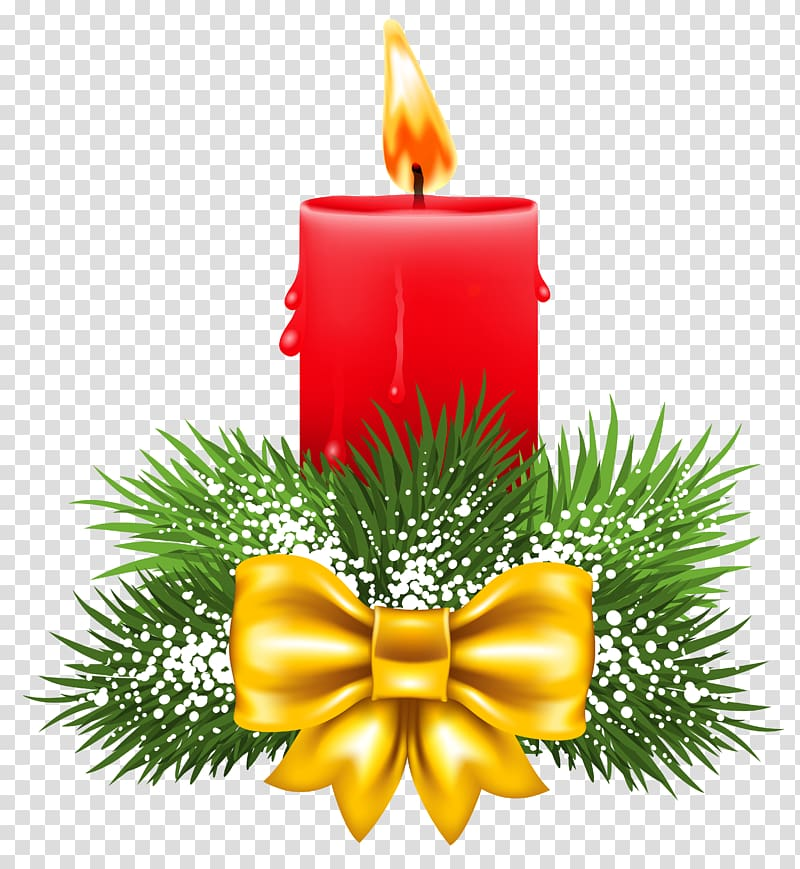 Merry christmas with gold and red candles clipart jpg library download Christmas Candle transparent background PNG cliparts free ... jpg library download