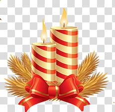 Merry christmas with gold and red candles clipart svg stock CHRISTMAS MEGA, white and red candles transparent background ... svg stock