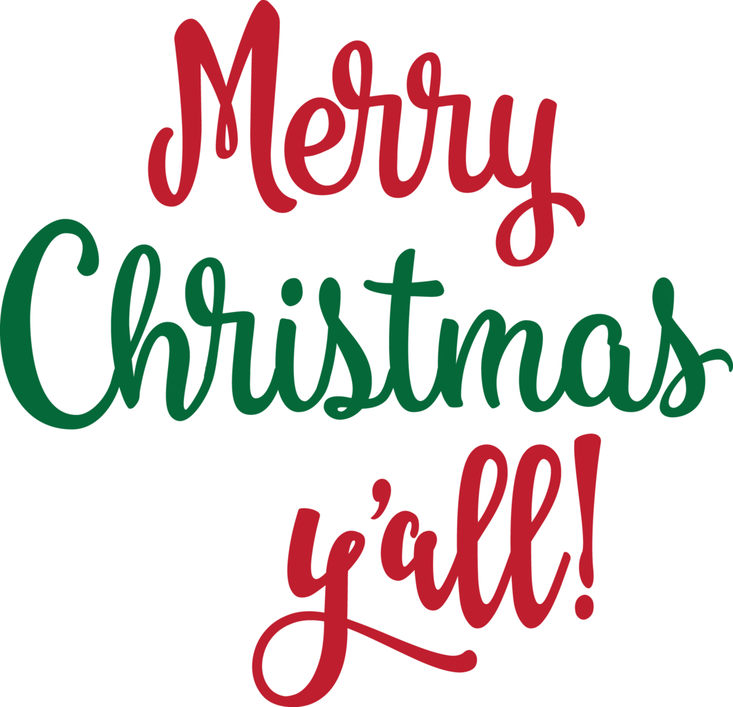 Merry christmas y all clipart banner transparent stock Merry Christmas Y\'all! banner transparent stock