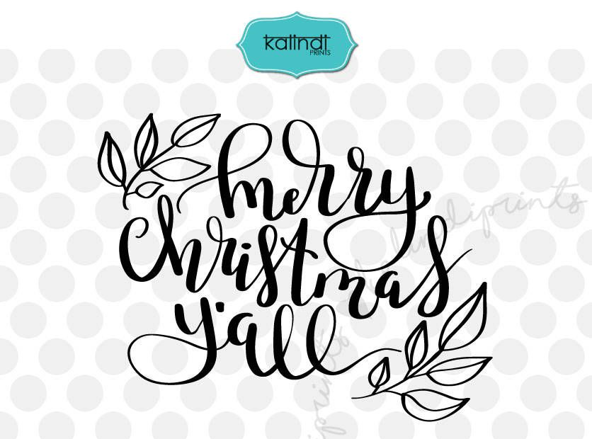 Merry christmas y all clipart clip art free download Merry Christmas Y\'all svg, Southern Christmas, Christmas svg ... clip art free download