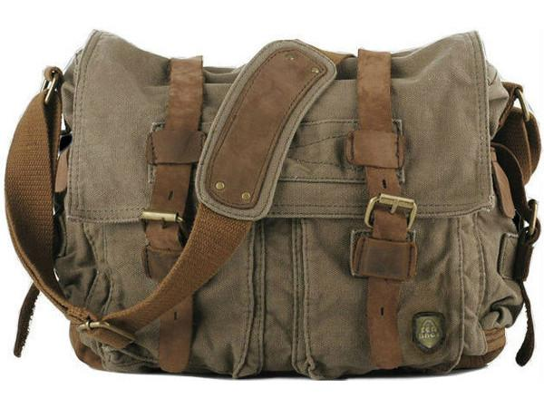 Messenger bags free Canvas Military Messenger Bag for only $69.99 | Serbags free