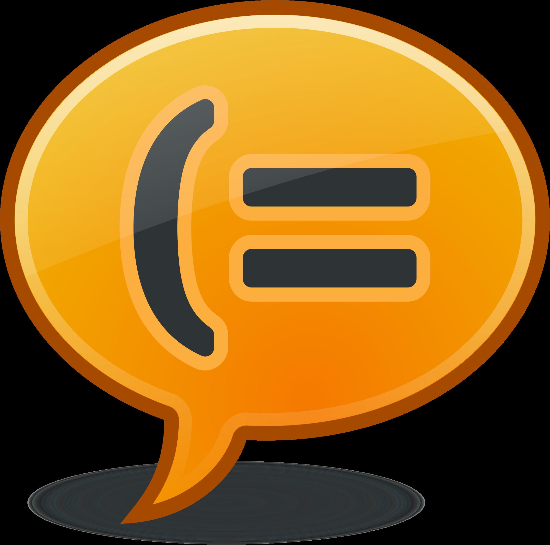 Messenger clipart jpg library stock Clipart - instant messenger jpg library stock