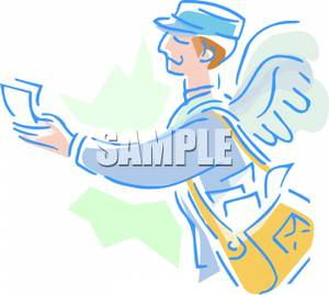 Messenger clipart picture royalty free Messenger Clip Art Free – Clipart Free Download picture royalty free