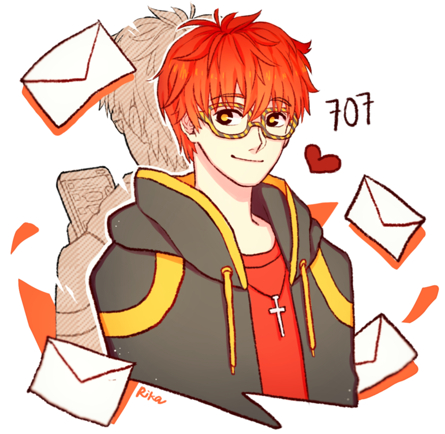 Messenger clipart graphic library download 707 from Mystic Messenger by Rika-Artsu on DeviantArt graphic library download