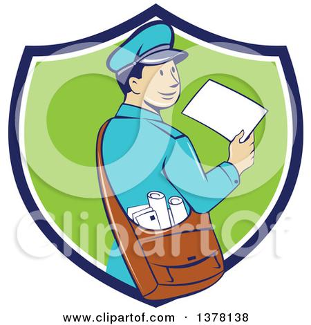 Messenger clipart free jpg black and white library Royalty-Free (RF) Messenger Clipart, Illustrations, Vector Graphics #1 jpg black and white library