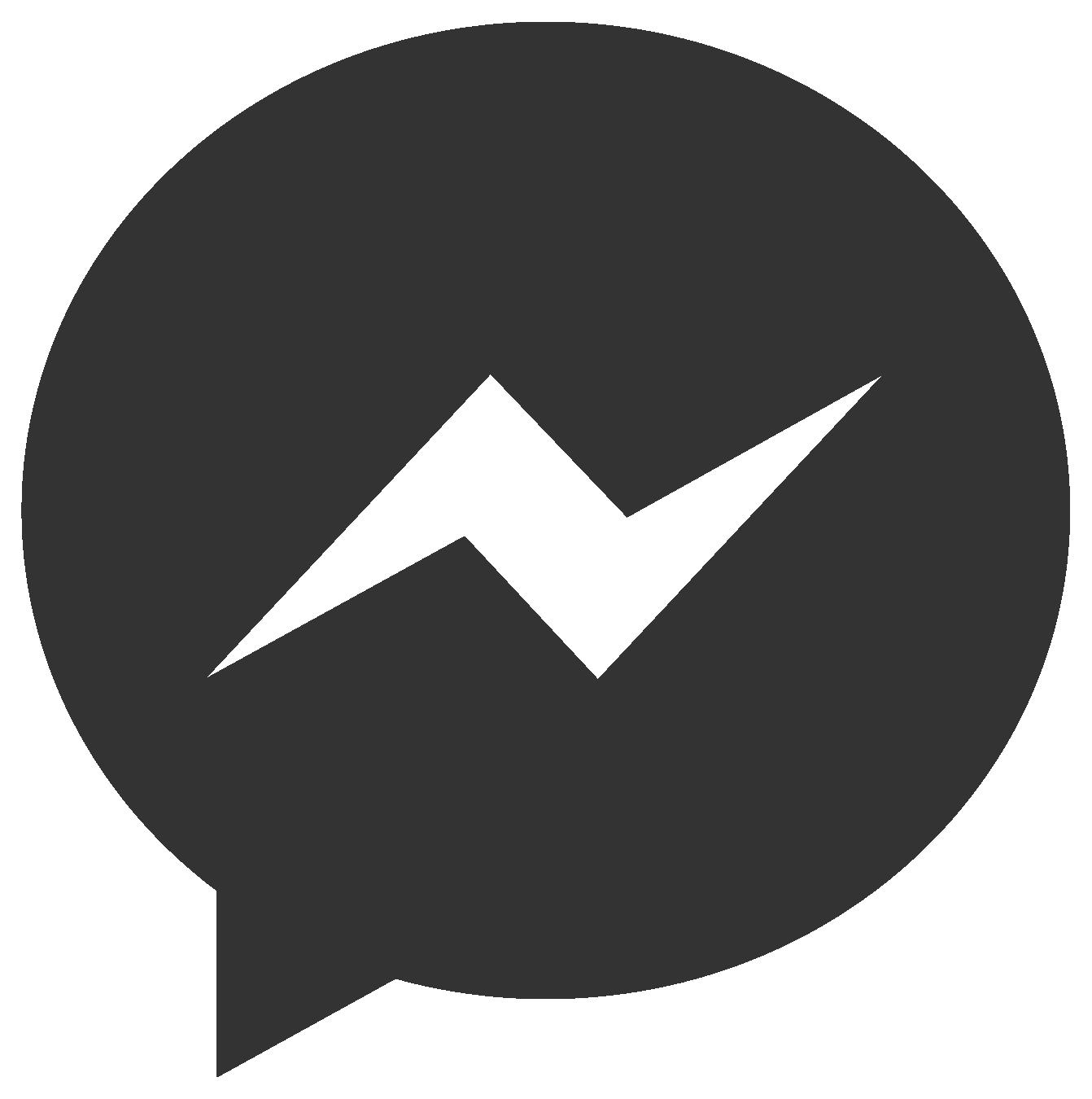 Messenger clipart free graphic free download Facebook Messenger Logo Transparent PNG Pictures - Free Icons and ... graphic free download
