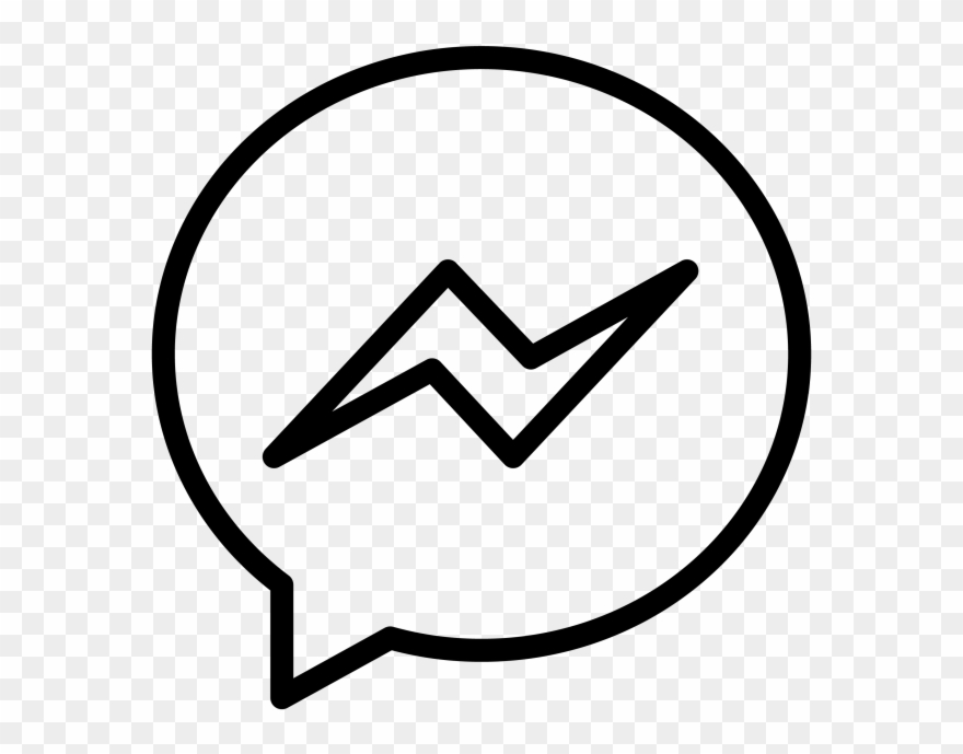 Messenger icon clipart png freeuse Fb Min 324x324@2x - Messenger Icon Png White Clipart ... png freeuse