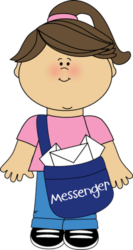 Messenger person clipart graphic library stock Messenger person clipart - ClipartFest graphic library stock