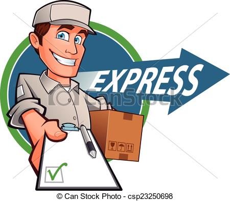 Messenger person clipart black and white stock Courier Illustrations and Clip Art. 15,240 Courier royalty free ... black and white stock