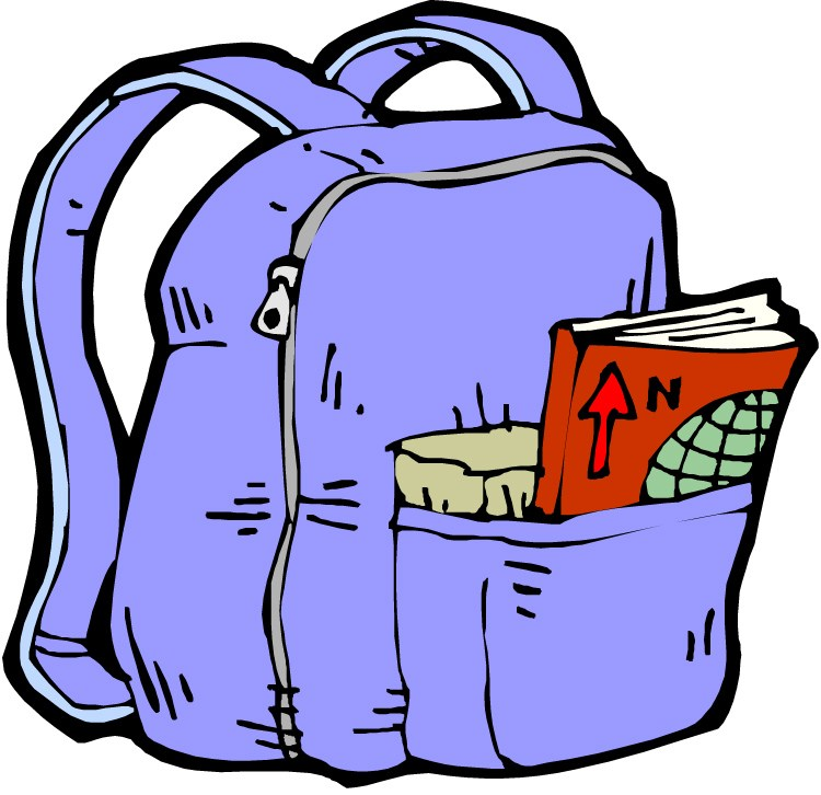 Messy backpack clipart jpg freeuse library Messy backpack clipart 4 » Clipart Portal jpg freeuse library