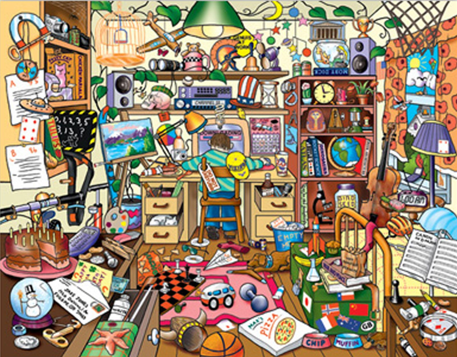 Messy bedroom clipart graphic royalty free stock Pin by Flavia Fabian on To Learn - Kids Set   Messy house ... graphic royalty free stock