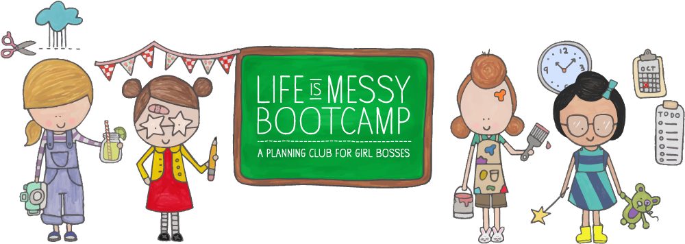 Messy school desk clipart freeuse library Life Is Messy Bootcamp – with Mayi Carles freeuse library