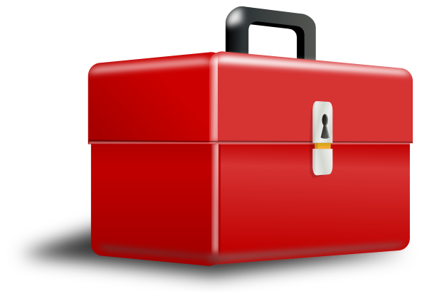 Metal box clipart image royalty free library Red Metal Tool Box PNG, SVG Clip art for Web - Download Clip ... image royalty free library