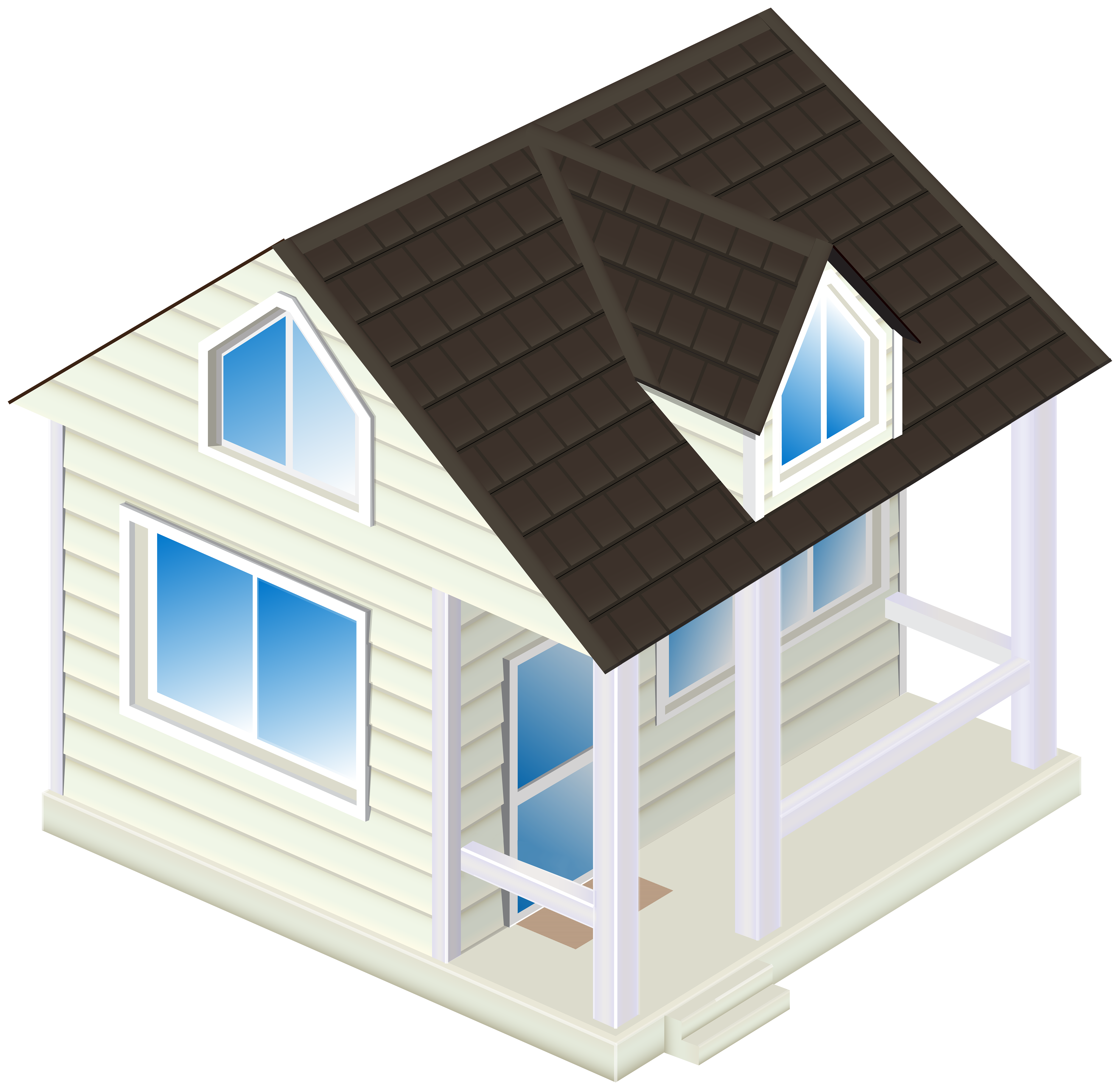 Underwater house clipart png free stock House PNG Clip Art - Best WEB Clipart png free stock