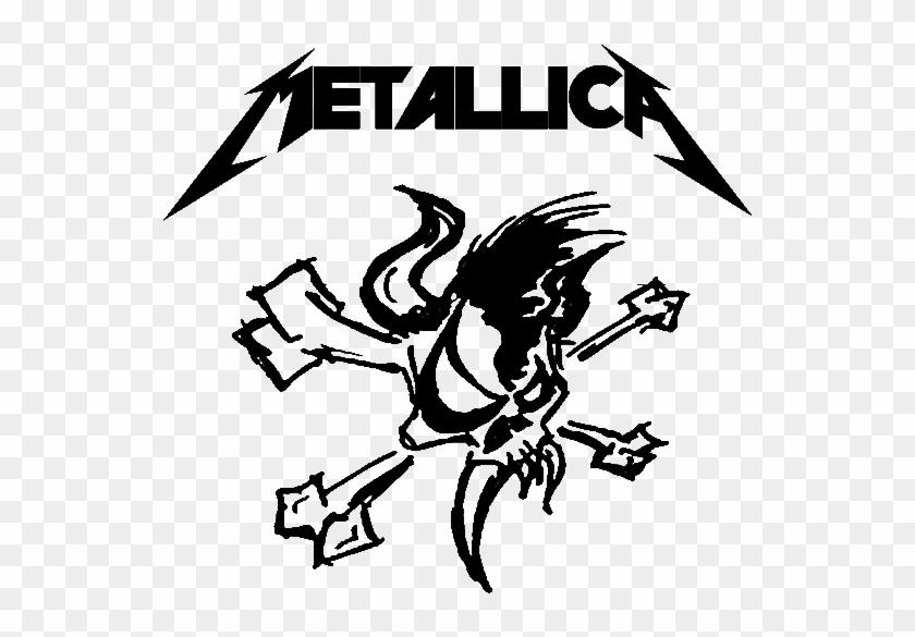 Metallica logo clipart png royalty free library Metallicalogo - Tattoo Metallica Logo, HD Png Download ... png royalty free library