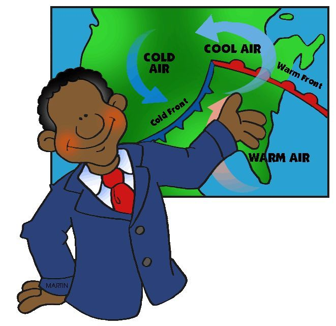 Meteorologist clipart