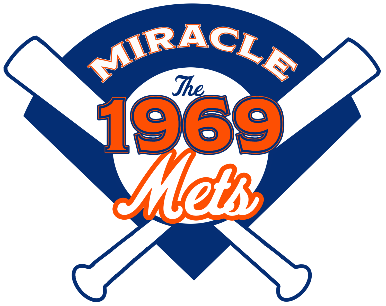 Mets baseball clipart graphic transparent library 69 Miracle Mets graphic transparent library