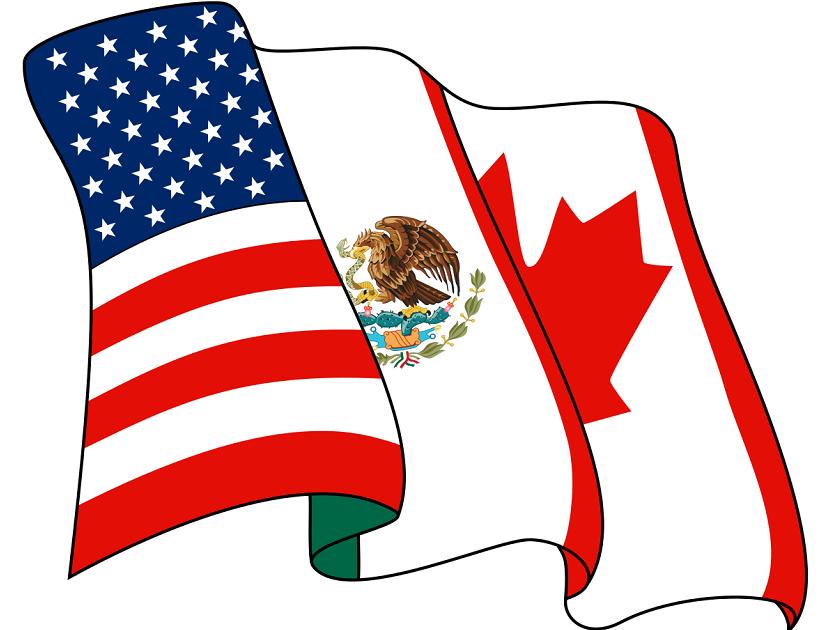 Mexican and american flag clipart logos png vector Trump, Mexico reach preliminary deal on NAFTA   2018-08-27 ... vector