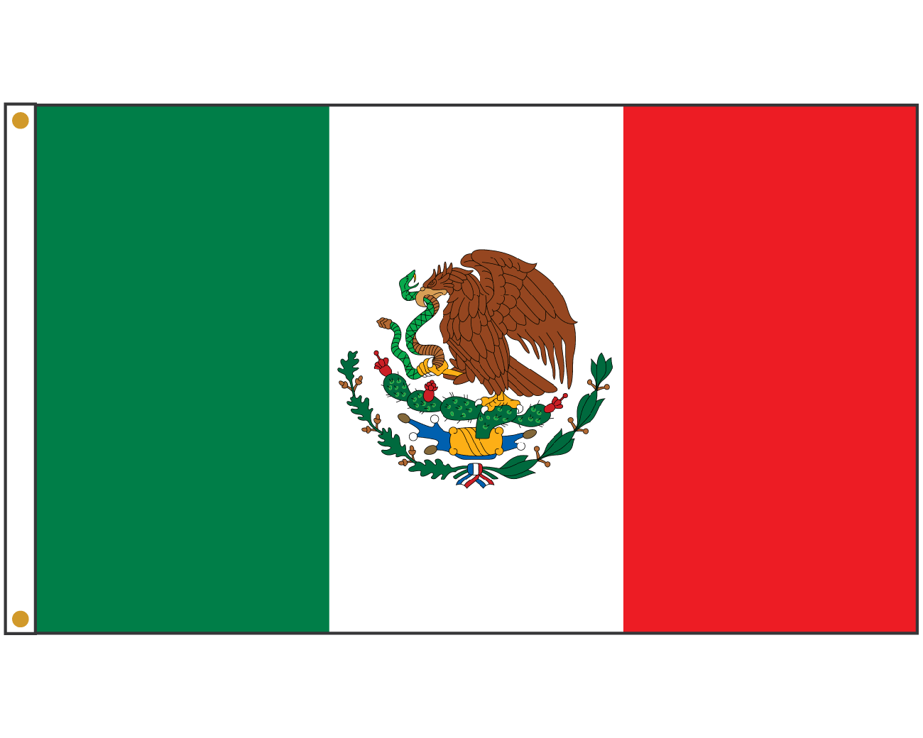 Mexican cross clipart graphic black and white stock Helpful Pictures Of A Mexican Flag Mexico Durable High Quality Flags ... graphic black and white stock