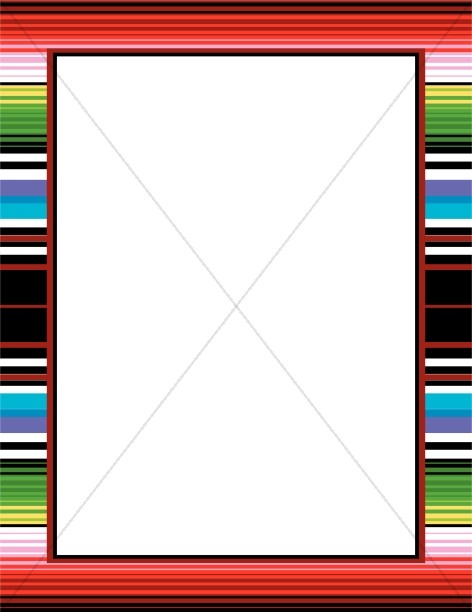 Mexican fiesta border clipart banner black and white Mexican Border Clipart | Free download best Mexican Border ... banner black and white