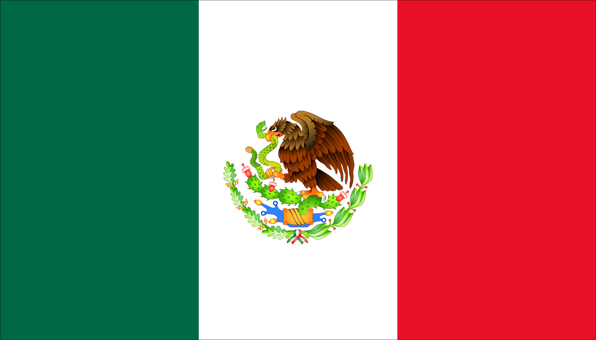 Mexican flag clipart free image royalty free stock Free Mexican Flag, Download Free Clip Art, Free Clip Art on ... image royalty free stock
