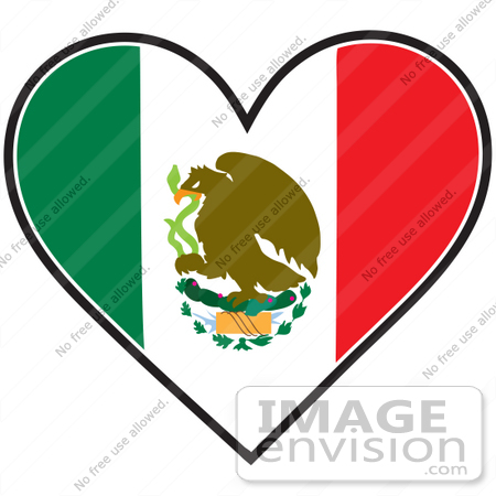 Mexican flag clipart free vector freeuse library Mexican Flag Clip Art Free | Clipart Panda - Free Clipart Images vector freeuse library