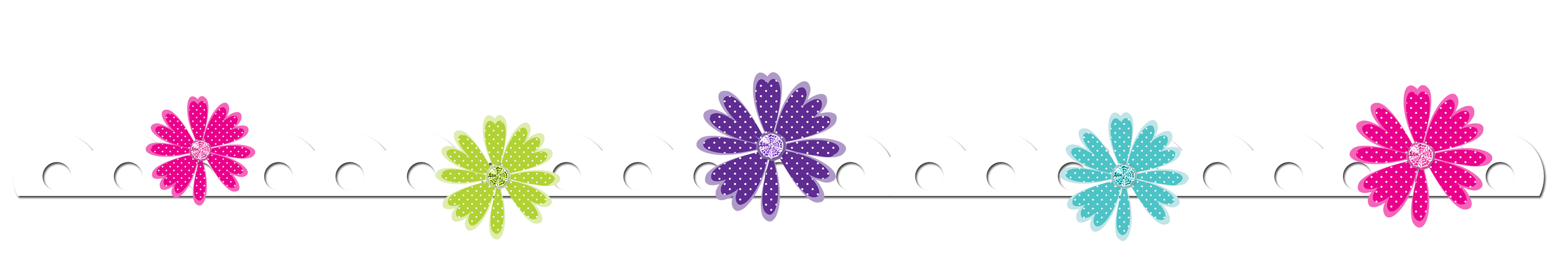 Mexican flower border clipart graphic black and white download Free Border Cliparts Flower, Download Free Clip Art, Free Clip Art ... graphic black and white download