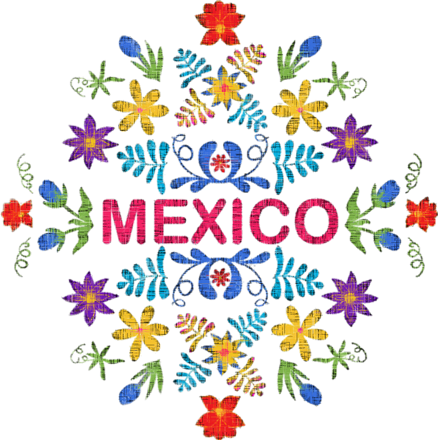 Mexican flower clipart png jpg black and white colorful cute mexican mexicanart mexico mexicanpride... jpg black and white
