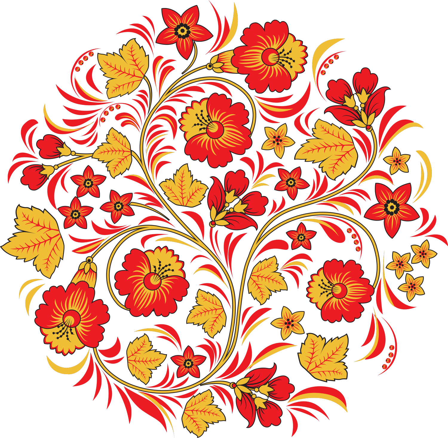 Mexican flower clipart png graphic freeuse download роспись-e1481376616357.png (1500×1469) | Орнамент | Pinterest graphic freeuse download