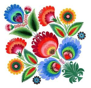 Mexican folk art clipart jpg freeuse download Mexican Flowers Clipart | Free download best Mexican Flowers ... jpg freeuse download