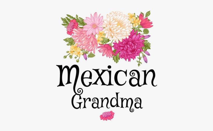 Mexican grandma clipart