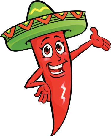 Mexican pepper clipart
